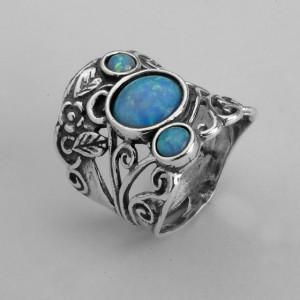 Inel argint opal R1271