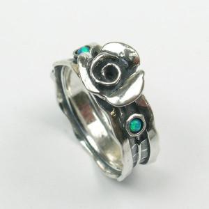 Inel argint opal - R4052