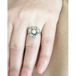 Inel argint perla R1281