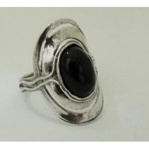 Inel argint R1102- onix