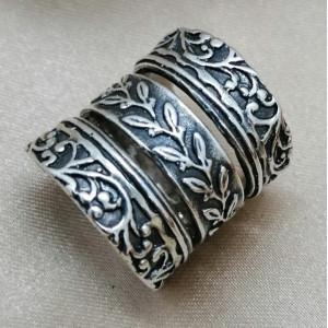 Inel argint -R1590