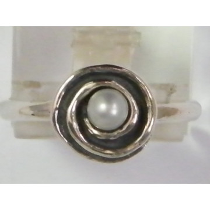 Inel argint- R796 perla