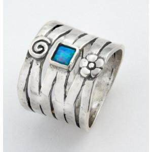 Inel argint si opal imperial R217