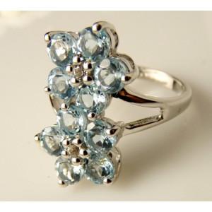 Inel argint VR016717-topaz