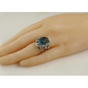 Inel din argint -R6980 Lapis