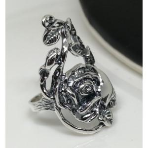 Inel lat -argint trandafir -R2202