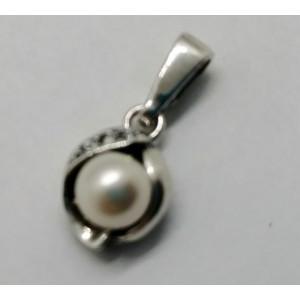 Pandantiv argint cu perla P3489