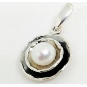 Pandantiv argint si perla de cultura E1499-1221