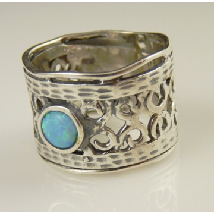 Inel argint -102076 opal