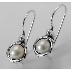 Cercei argint si perla de cultura E2033