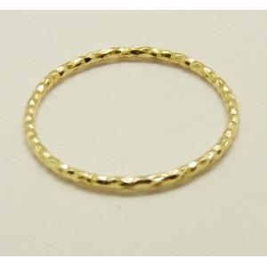 Inel delicat argint placat cu aur galben- ANDM1118PLGIA
