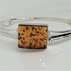 Bratara argint chihlimbar cogniac B2670-2