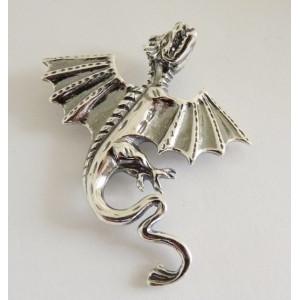 Brosa argint E606