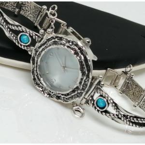 Ceas din argint cu opal - W8482-1