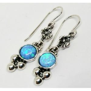 Cercei argint opal-E2777