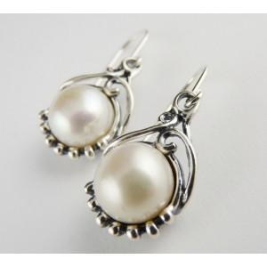 Cercei argint perla E1960