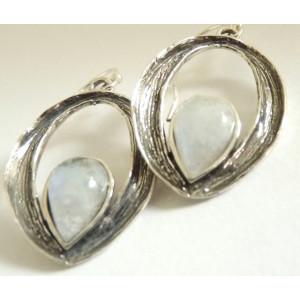 Cercei argint piatra lunii-E7904