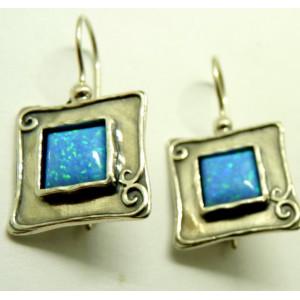Cercei din argint si opal E2665