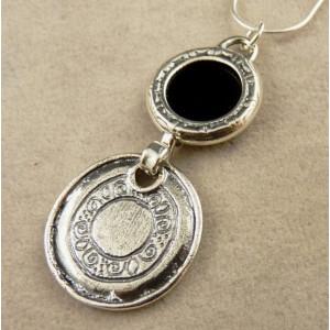 Colier argint onix NG2945-1481