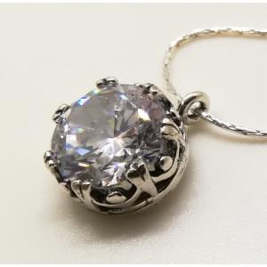 Colier din argint- zircon N4525