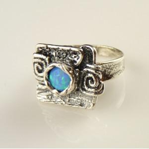 Inel argint -A11609 opal