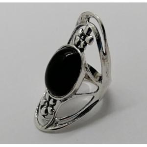 Inel argint onix -R949