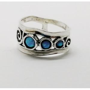 Inel argint OPAL- R3927