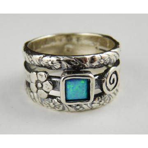 Inel argint opal R615