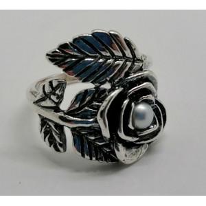 Inel argint - perla-R2925