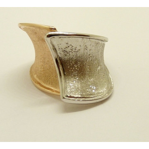 Inel argint placat cu aur roz- ANTT0176RBROS