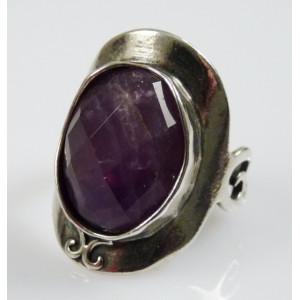 Inel argint R2950 - ametist oval