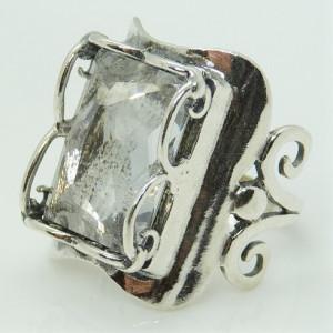 Inel argint R3174 - zircon