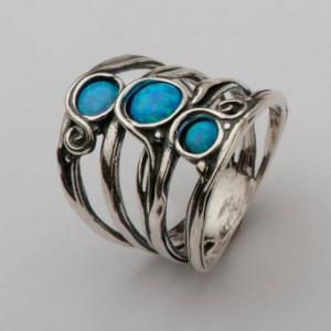 Inel argint - R923 opal
