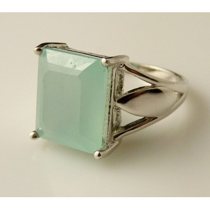 Inel argint -VR012691 calcedonia
