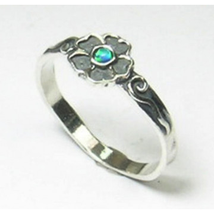 Inel din argint - R4792-1  opal