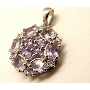 Pandantiv argint Ametist -VP015155