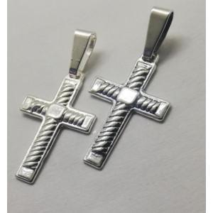 Set 2 cruciulițe din argint P348