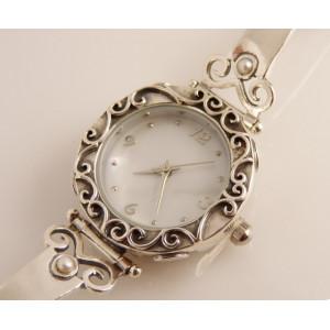 Ceas argint perla W4132-1