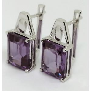 Cercei argint Alexandrit-VE012691