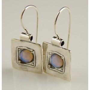 Cercei argint opalit E066-E1851