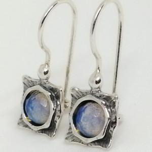 Cercei argint opalit -E2874B