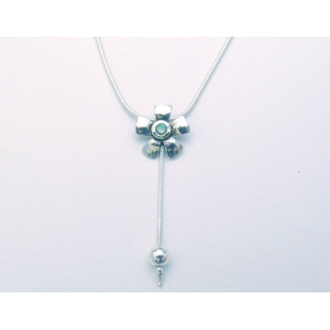Colier argint cu opal N2239