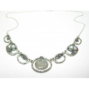 Colier argint druzzy quartz N9835-7