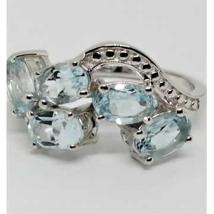Inel argint blue topaz-VR016720