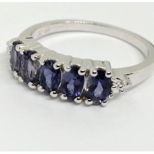 Inel argint iolit -VR018333