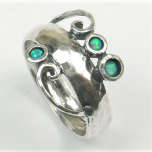 Inel argint opal imperial R4053