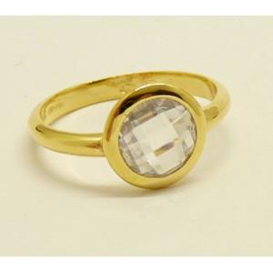 Inel argint placat cu aur galben - ANJJ2141PLGIA