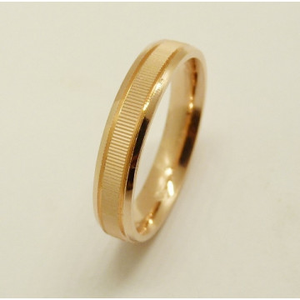 Inel argint placat cu aur roz - ANAN1914PLROS