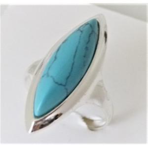 Inel argint turcoaz R3372