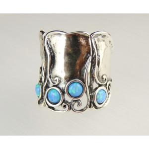 Inel argint vintage style R1248 opal